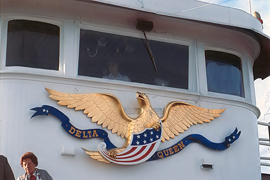 the pilothouse eagle decoration