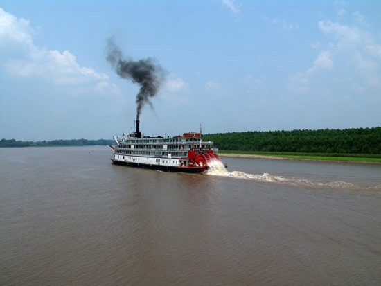 on the Lower Mississippi River