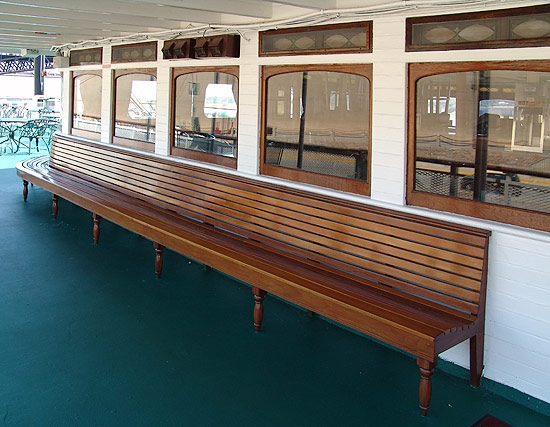 texas deck benches
