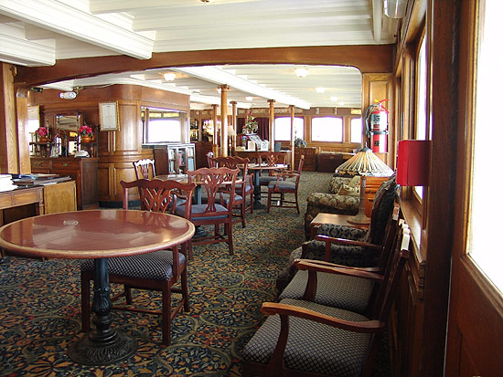 forward cabin lounge