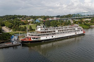 Delta Queen at Chattanooga's Coolidge Park